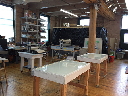 Hirst Printmaking and Fine Art Studio